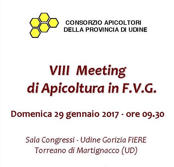 Incontro degli apicoltori regionali a Udine